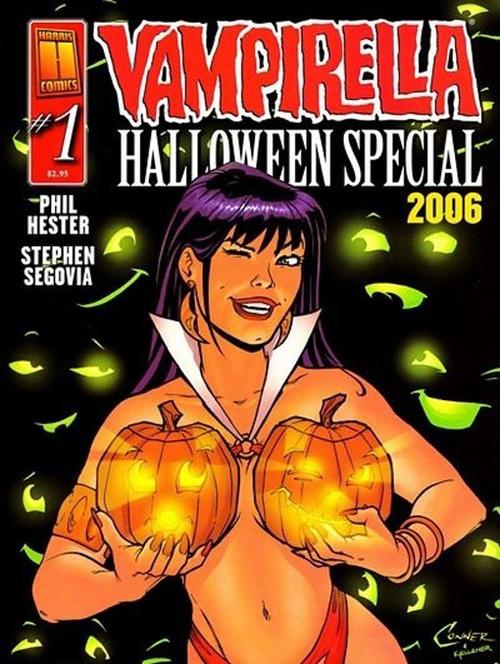 Vampirella suggerisce un utilizzo alternativo della Zucca-Lanterna!