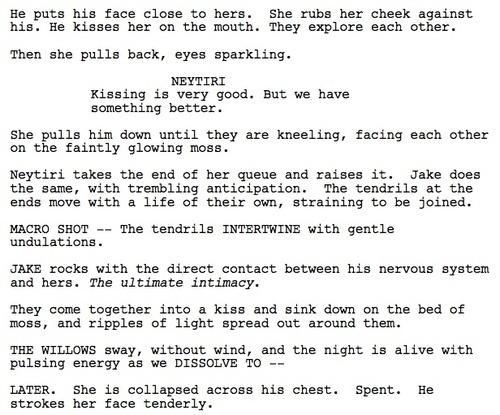 - Lo script della scena di sesso censurata, ma che forse vedremo nel DVD (da io9.com)