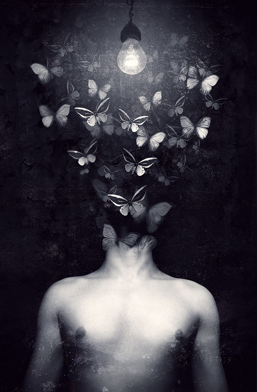 - Interpretazione di Mothman a cura di PanZerkorps (da horrorscopeentertainment.wordpress.com) -