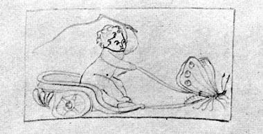 Uno dei disegni del Disegnatore