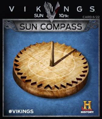 Il compasso solare, lo strumento che consentirà ai vichingi di navigare verso ovest