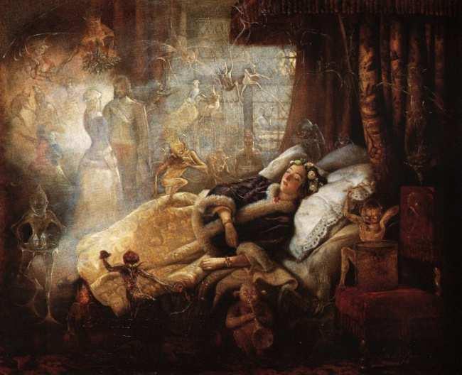 Mentre dormiamo le stanze si riempiono di creature...