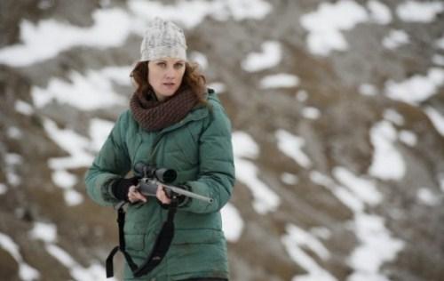 La blogger e il suo fucile. Mi pare fantastico.