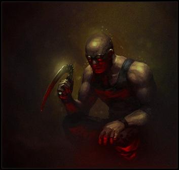 Riddick by Bopchara (DeviantArt)