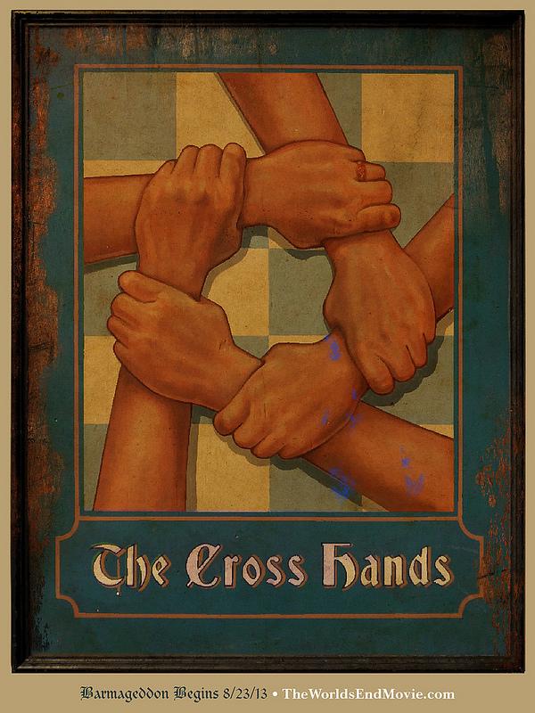the cross hands