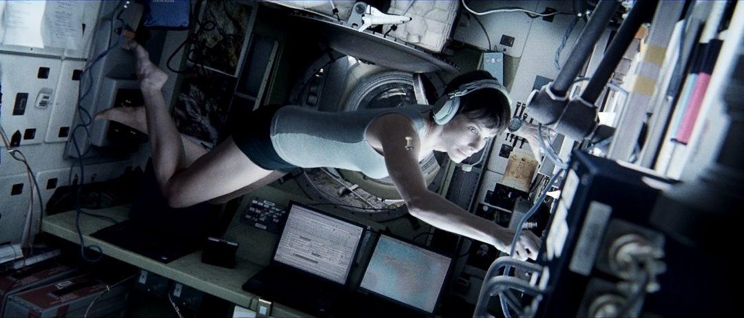 Sandra Bullock in Gravity (clicca per ingrandire).
