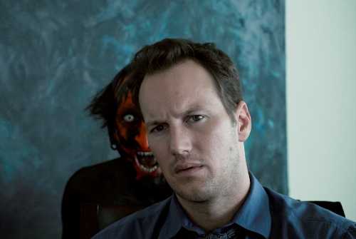 Joseph Bishara as Demon, and Patrick Wilson as Josh in INSIDIOUS. Courtesy of FilmDistrict.tif