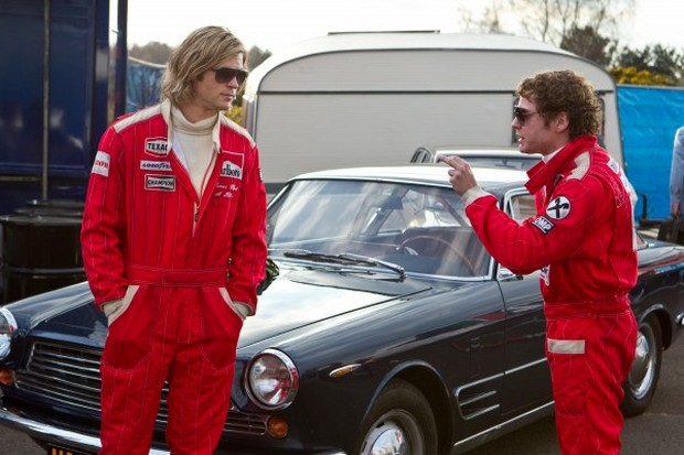I falsi Niki Lauda e James Hunt