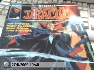 Copertina dello Speciale La Tomba di Dracula edito da Star Comics