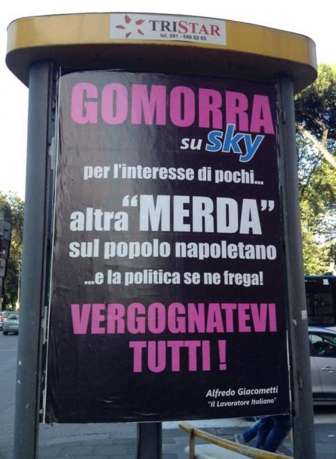 Serie, tra l'altro, accusata pubblicamente di squalificare il tessuto urbano di Napoli.