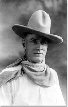 Frank Hopkins (col suo bel cappello)
