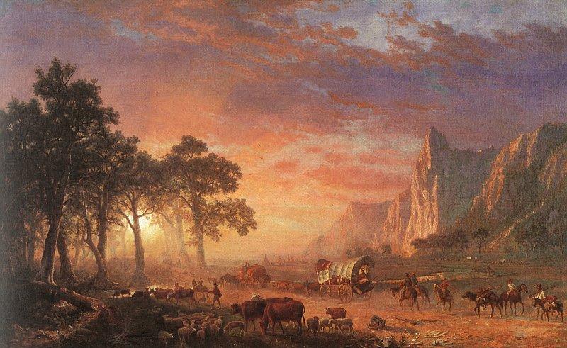 Albert_Bierstadt_Oregon_Trail