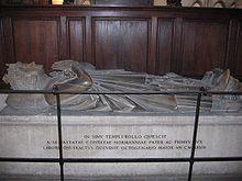La tomba di Rollo nella cattedrale di Rouen