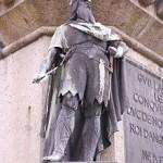 La statua di Rollo a Falaise
