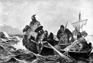 I normanni approdano in Islanda