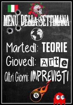 week menu