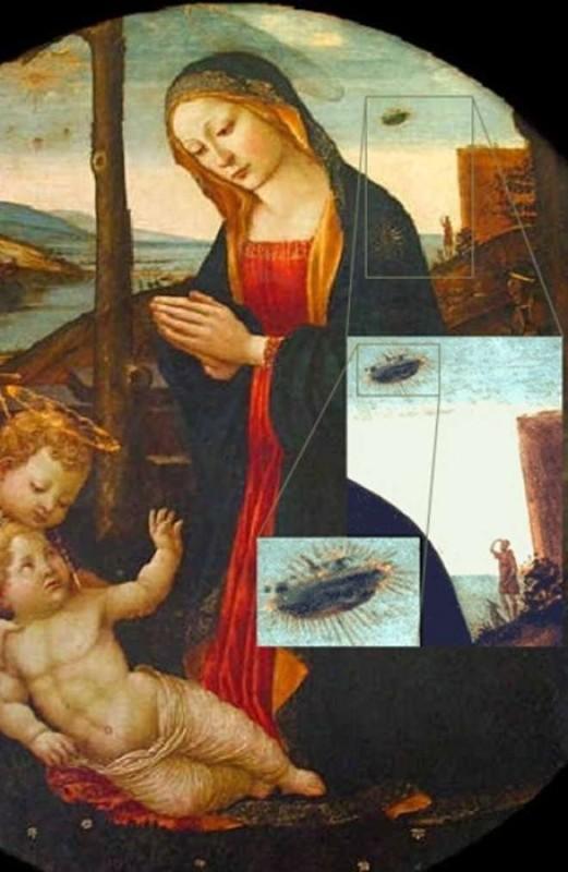 Madonna con Bambino e San Giovannino.