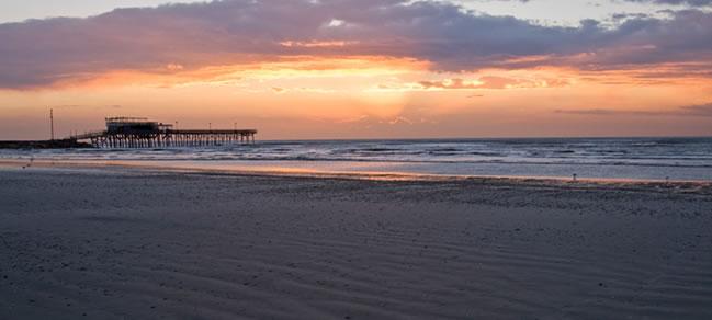 Galveston, che ha di questi panorami.