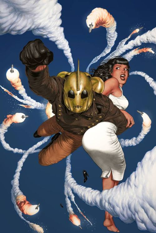 rocketeer e Betty page