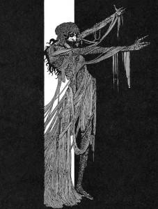 Madeline Usher nella raffigurazione di Harry Clarke