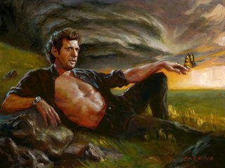Ian Malcolm: from Caos (by John Larriva)