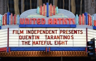"LOS ANGELES, CA - APRIL 19: A general view of atmosphere at the world premiere of a staged reading by Quentin Tarantino: ""The Hateful Eight"" presented by Film Independent at The Theatre at Ace Hotel Downtown LA on April 19, 2014 in Los Angeles, California. (Photo by Amanda Edwards/WireImage)"