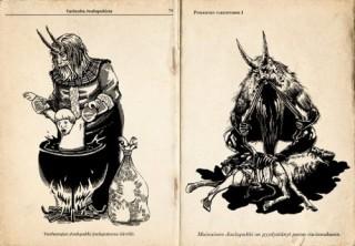 Lo Joulupukki della tradizione nordica, l'antenato del Krampus.