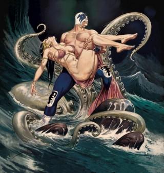 Un luchador, una damigella in pericolo, il mare e... una piovra. Tutto quello che serve per metter su un bel blog personale.