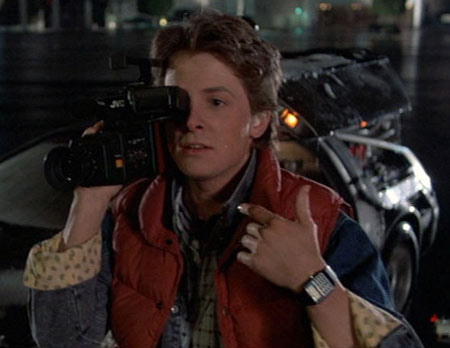 Michael J Fox - Casio CA-50