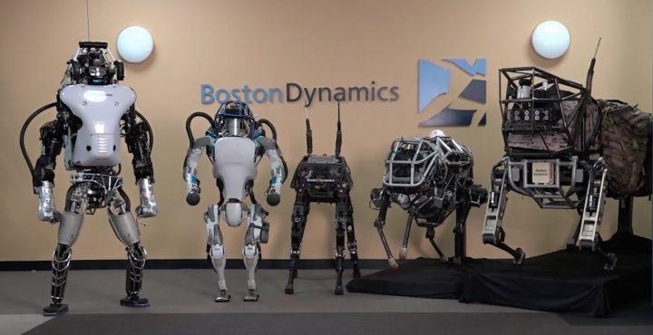 I modelli robotici della Boston Dynamics